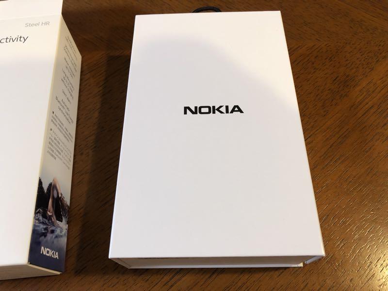 Nokiaのスマートウォッチ Steel HR ローズゴールド