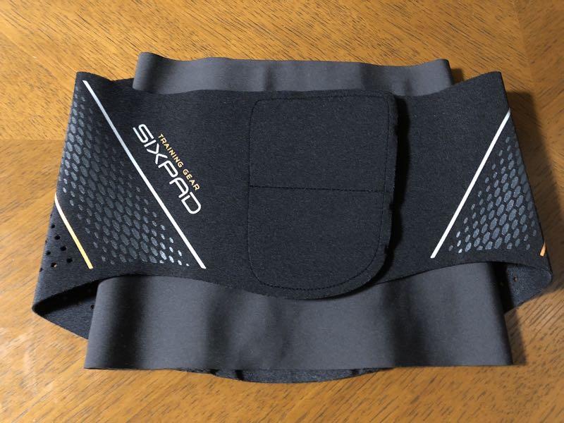 カーヴィーフィット 加圧 SIXPAD トレーニングスーツ ウエスト