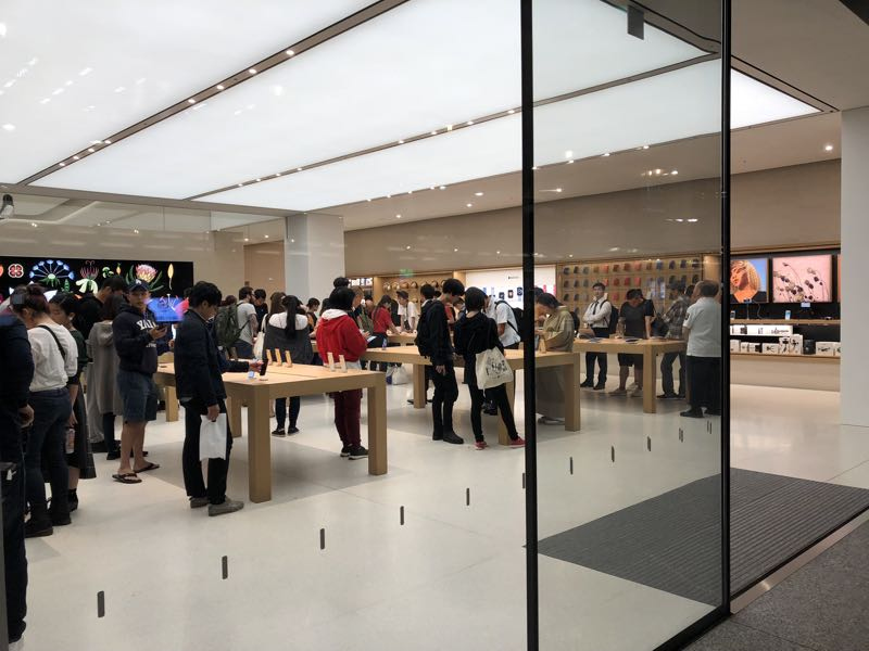 京都一人旅 おすすめ Applestore