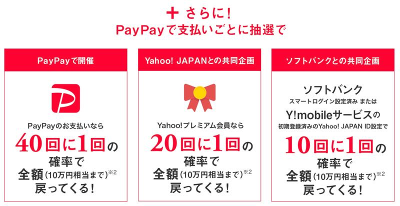PayPay ペイペイ ソフトバンク 500円