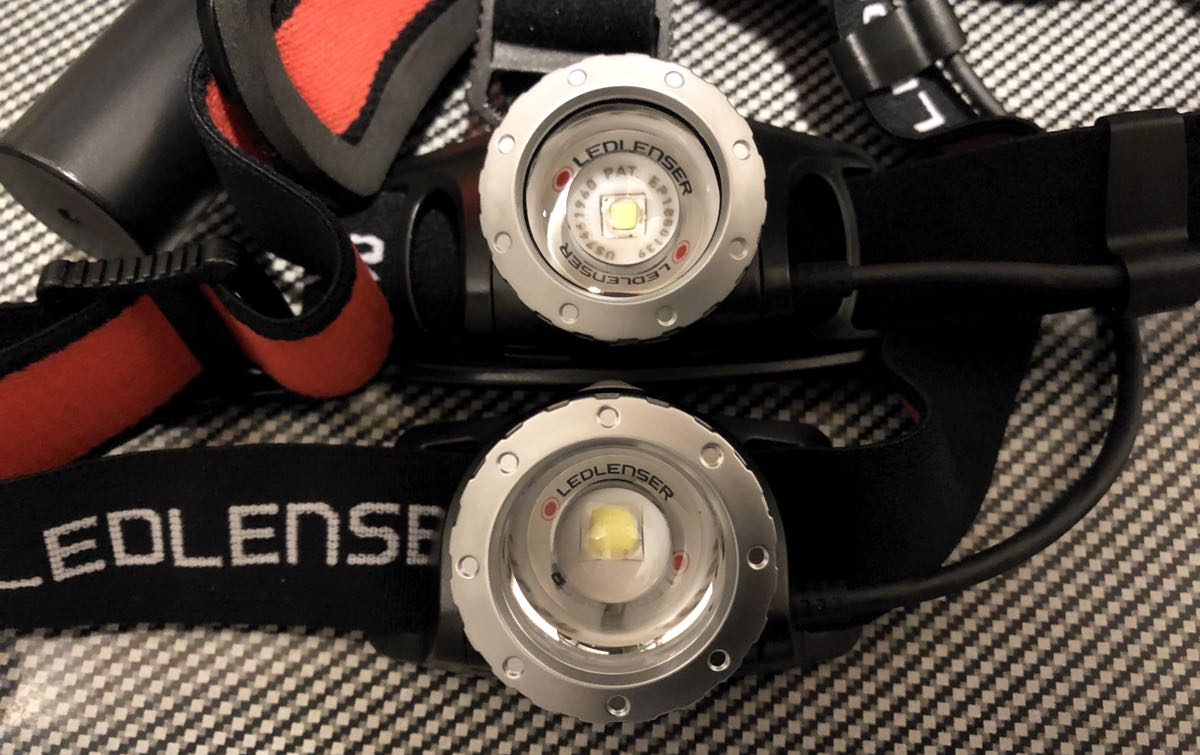 LEDLENSER(レッドレンザー)のH8RとH7R.2の比較